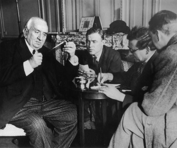 Louis Jean Lumière (esq.), parte da dupla que foi pioneira na produção de imagens em movimento (Foto: Hulton Archive/Getty Images)