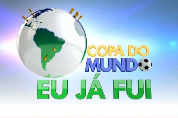 Quadro 'Eu já fui pra Copa' é exibido pelo Tem Notícias (Foto: Arte/TVTEM)