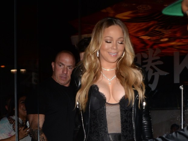X17 - Mariah Carey em Los Angeles, nos Estados Unidos (Foto: X17online/ Agência)