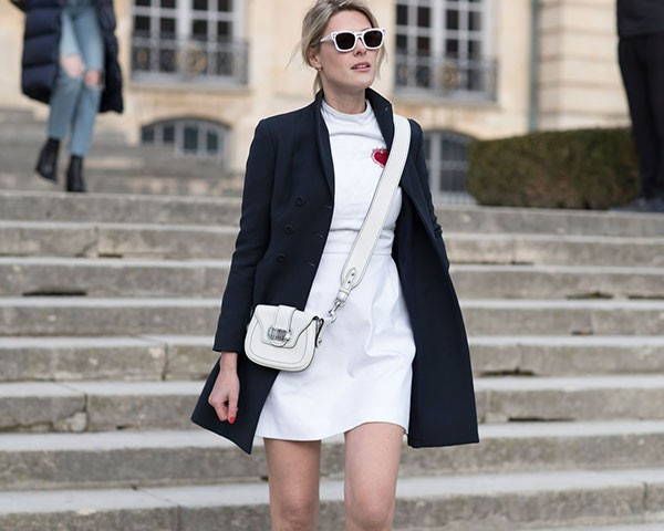 A combinação de bota com vestido foi um ponto alto da fashion week (Foto: Imaxtree)