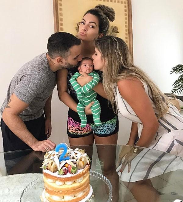 Kelly Key em família (Foto: Reprodução Instagram)