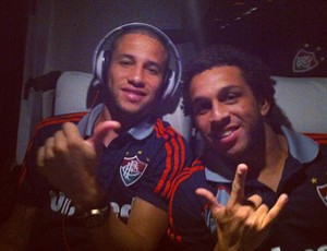 Bruno, Wellington Nem, Fluminense (Foto: Divulgação)