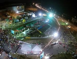Corrida Noturna do Sesi (Foto: Divulgação/Fiern)