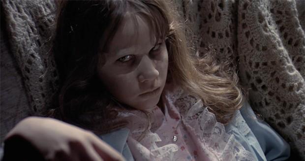 Linda Blair como Regan McNeil em 'O Exorcista': filme para não dormir à noite (Foto: Reprodução)