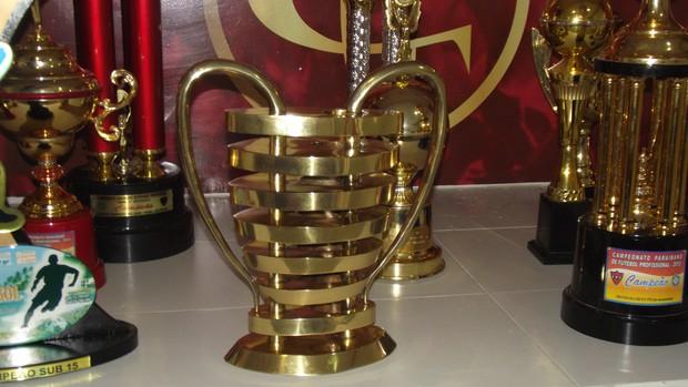 Taça, Copa do Nordeste, Campinense, Campeão do Nordeste, Paraíba,  (Foto: Silas Batista / Globoesporte.com/pb)