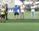 'Social', Alessandro acompanha vitória do Corinthians em jogo-treino