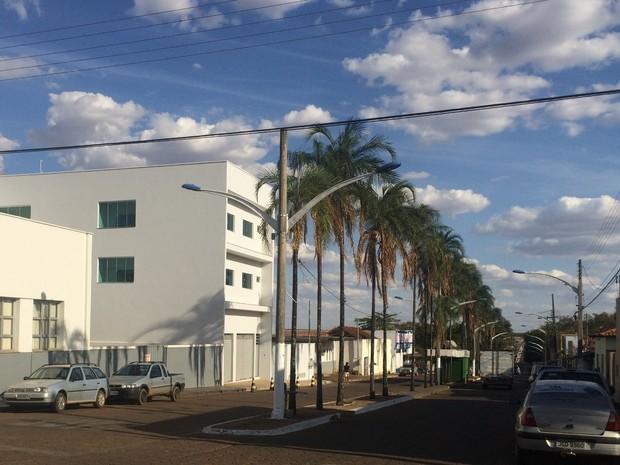 Vianópolis é uma das quatro cidades em que só há um candidato a prefeito em Goiás (Foto: Vanessa Martins/G1)
