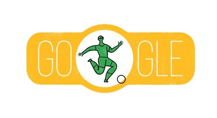 Doodle para outros países lembra Paralimpíada, mas não traz cores da bandeira do Brasil (Foto: Divulgação/Google)