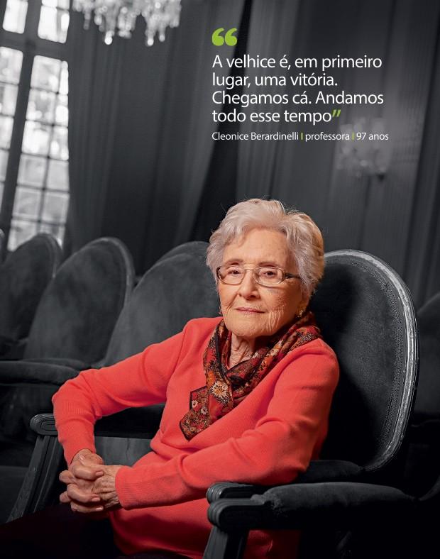 Cleonice Berardinelli (Foto: Andre Arruda/ÉPOCA)
