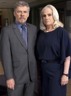 José Mayer e Vera Holtz (Foto: Globo/Renato Rocha Miranda)