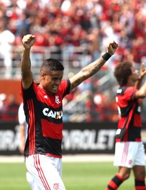 Everton Flamengo X figueirense (Foto: Gilvan de Souza / Flamengo)