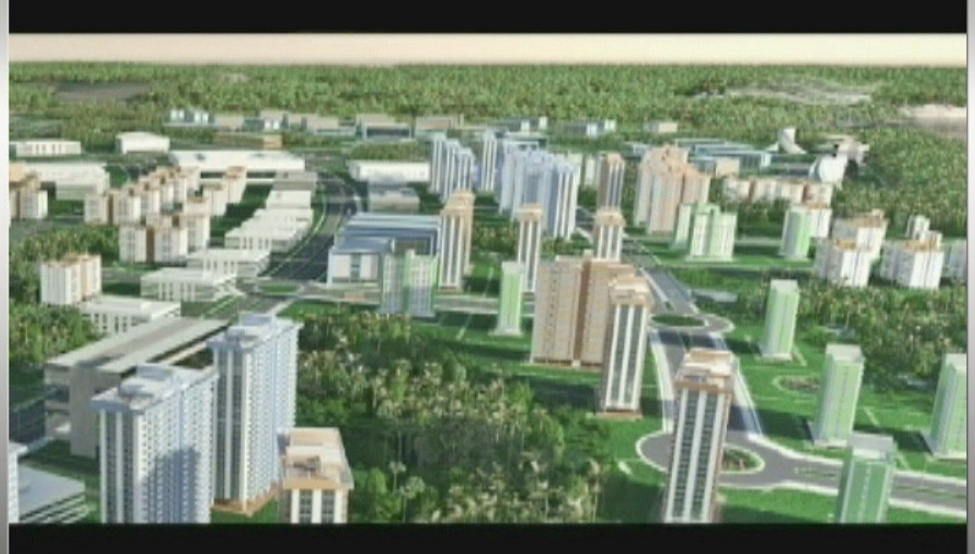 Cidade universitária também vai ter conjuntos residenciais (Foto: Jornal do Amazonas)