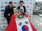 Com a seleção em Foz, 'sul-coreanos paraguaios' dividem a torcida na Copa