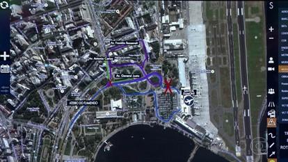 Mudanças do trânsito no entorno do Aeroporto Santos Dumont começam no sábado (11)