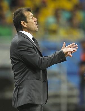 Dunga Brasil x Peru (Foto: EFE)
