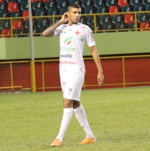 Rodrigo, zagueiro Rio Branco-AC (Foto: Duaine Rodrigues)