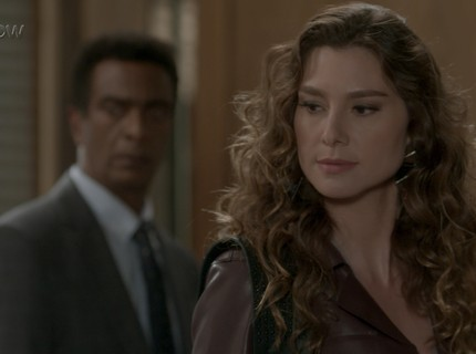 Teaser 20/4 - Natasha proíbe Arthur de ficar com a filha