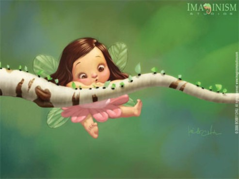 screenshot de Papel de Parede: Baby Fairy
