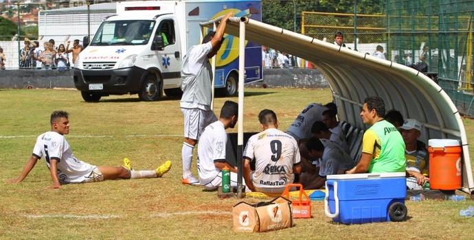 Jogadores do Comercial no Palma Travassos (Foto: F.L. Piton / Jornal A Cidade)