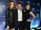 Ju Paes e mais famosos participam de festa com Antonio Banderas