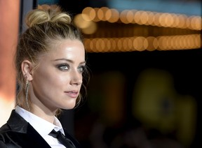 Amber Heard em première de filme em Los Angeles, nos Estados Unidos (Foto: Kevork Djansezian/ Reuters)