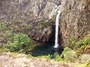 Cachoeira Casca Danta (Foto: Eduardo Issa)