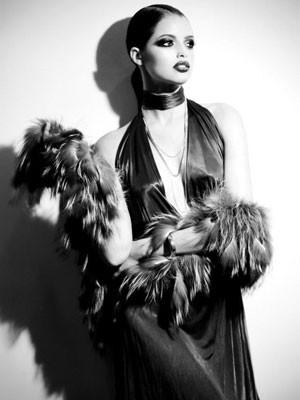 Agatha modelo (Foto: Arquivo Pessoal)