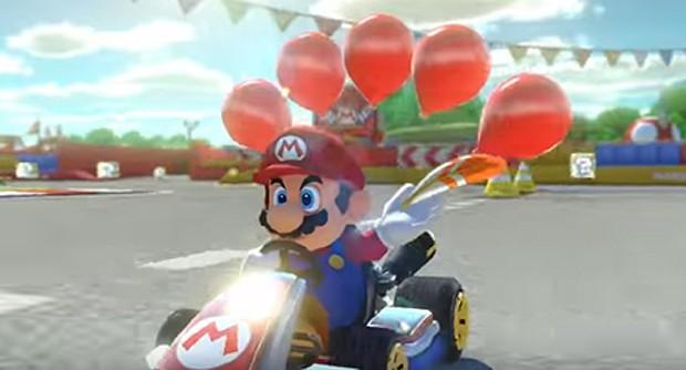 Mario Kart 8 Deluxe (Foto: Divulgação)