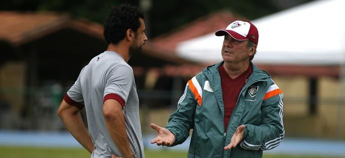 levir culpi fred fluminense (Foto: Nelson Perez / FluminenseFC)