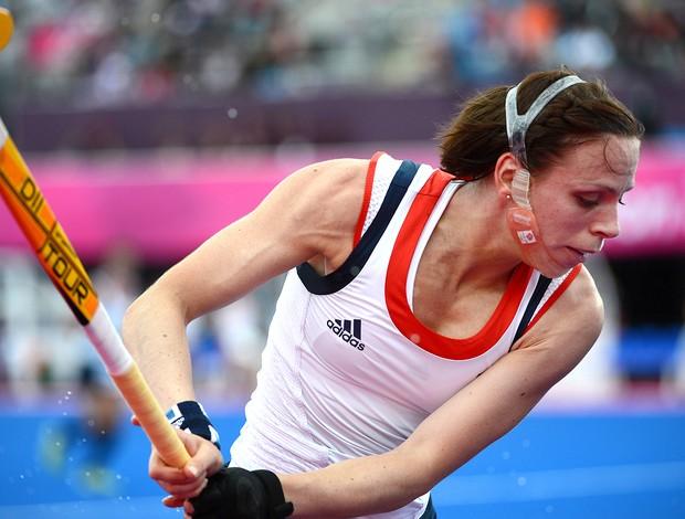 Kate Walsh, Grã-Bretanha, Hoquei, Londres (Foto: Agência AFP)