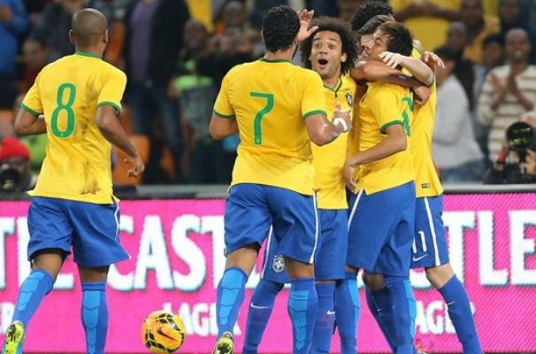 seleção brasileira (Foto: Jefferson Bernardes/VIPCOMM)