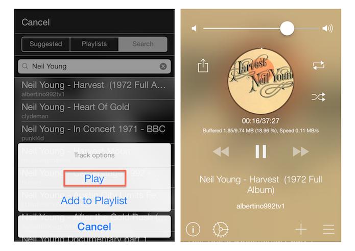 Reproduzindo conteúdos do YouTube como streaming de áudio no iPhone com o Tuner for YouTube (Foto: Reprodução/Marvin Costa) (Foto: Reproduzindo conteúdos do YouTube como streaming de áudio no iPhone com o Tuner for YouTube (Foto: Reprodução/Marvin Costa))