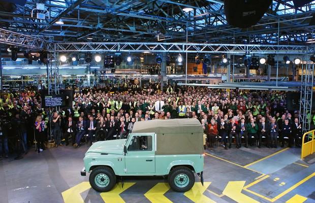 Land Rover Defender deixa de ser produzido após 68 anos (Foto: Divulgação)