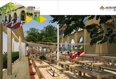 3deadefce3df9 Veja a imagem da Casa da Áustria no clube do Botafogo