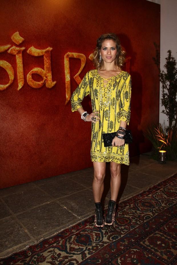 Luiza Valdetaro na festa de Joia Rara (Foto: Gabriela Andrade / Foto Rio News)