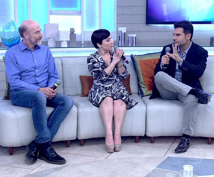 Simone Gutierrez revela como perdeu quase 40 quilos em um ano (Foto: TV Globo)