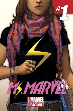 Capa da primeira edição dos quadrinhos protagonizados por Kamala Khan, uma adolescente de 16 anos que é a nova heroína da editora Marvel (Foto: Reuters)