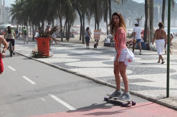 Fernanda Paes Leme skate (Foto: Sandro Gama)