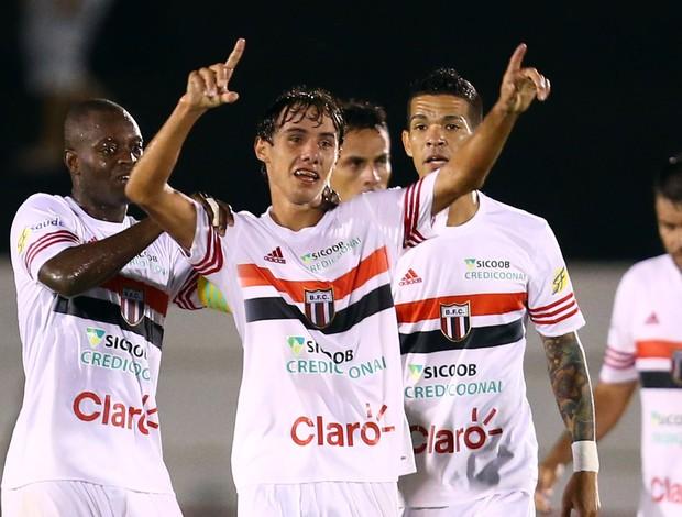 Wesley, atacante do Botafogo-SP (Foto: Thiago Calil/Ag. Botafogo)
