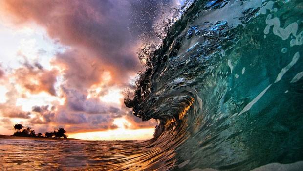As imagens registradas pelos fotógrafos lembram um caleidoscópio de cores (Foto: Caters)