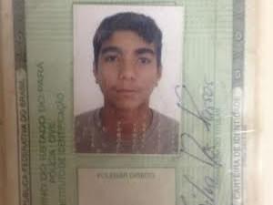 Cristian Silva dos Passos, 23 anos, foi encontrado morto na orla de Santarém (Foto: Luti Gomes/G1)