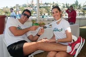 Carlos Machado e Ivy Rocha (Foto: Divulgação/ Marcia Alves)