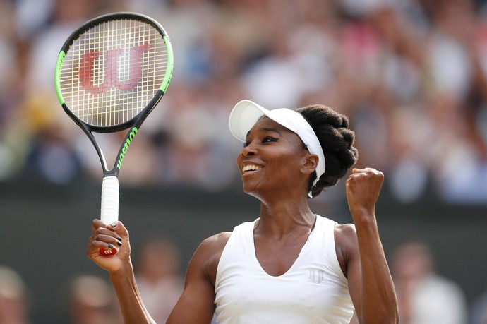 Venus Williams tenta hexacampeonato no torneio de Wimbledon (Foto: REUTERS/Matthew Childs)