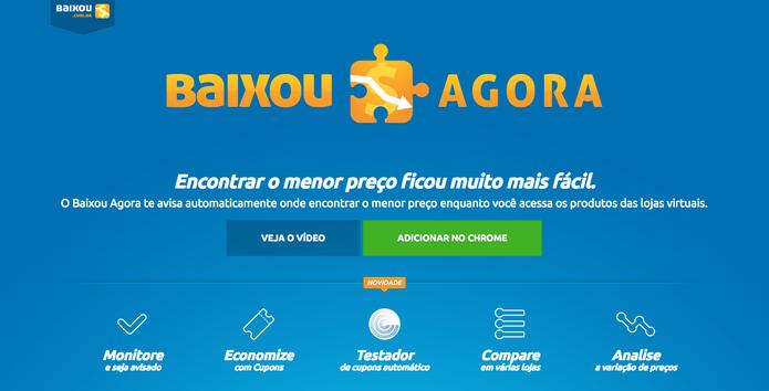 Plugin Baixou Agora ajuda a fugir de fraudes na Black Friday (Foto: Reprodução/Luana Marfim)