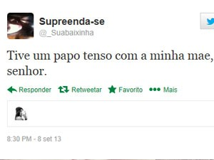 Giovanna escreveu sobre conversa com a mãe (Foto: Reprodução/Twitter)