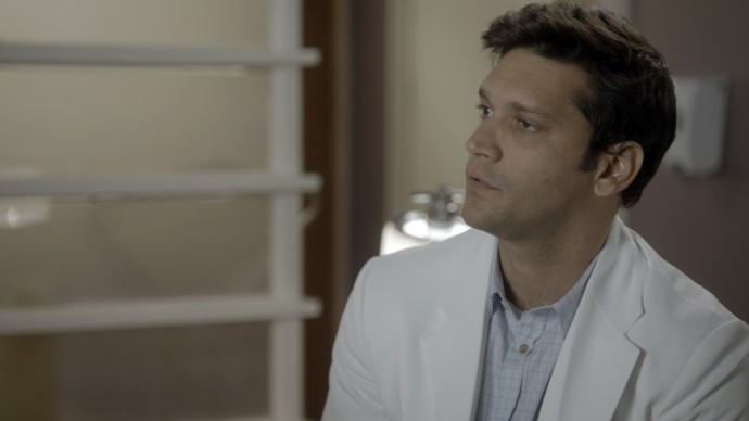 Bruno deixa a entender que perdeu a confiança nela (Foto: TV Globo)