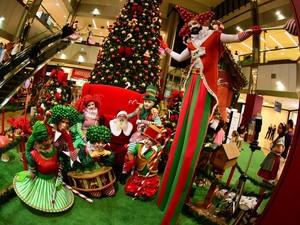 Decoração Natal Shopping Colinas (Foto: Divulgação/Shopping Colinas)