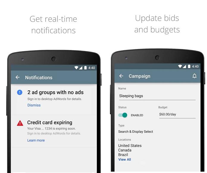 Google Adwords permite monitorar campanhas no celular (Foto: Divulgação)