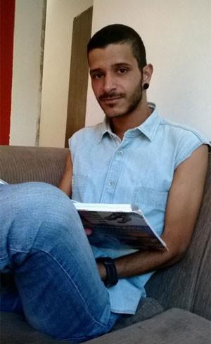 O estudante Gerry Costa (Foto: Gerry Costa/Arquivo Pessoal)