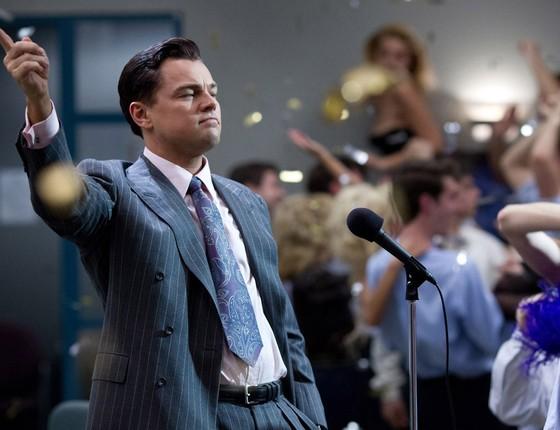 """Leonardo di Caprio em """"O lobo de Wall Street"""" (Foto: Divulgação)"""